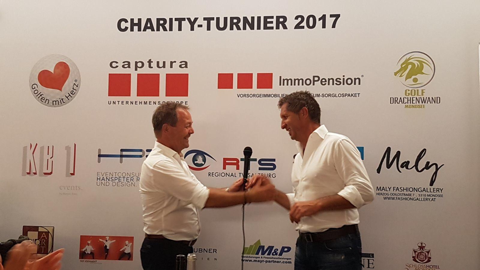 Gratulation Charity Turnier